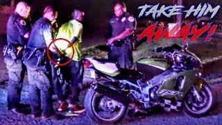 ANGRY & COOL COPS Vs BIKERS - MOTORCYCLIST ARRESTED - BEST OF THE WEEK!