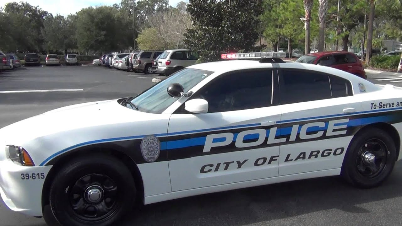 Brand New Dodge Charger For The Largo Police Department - YouTube