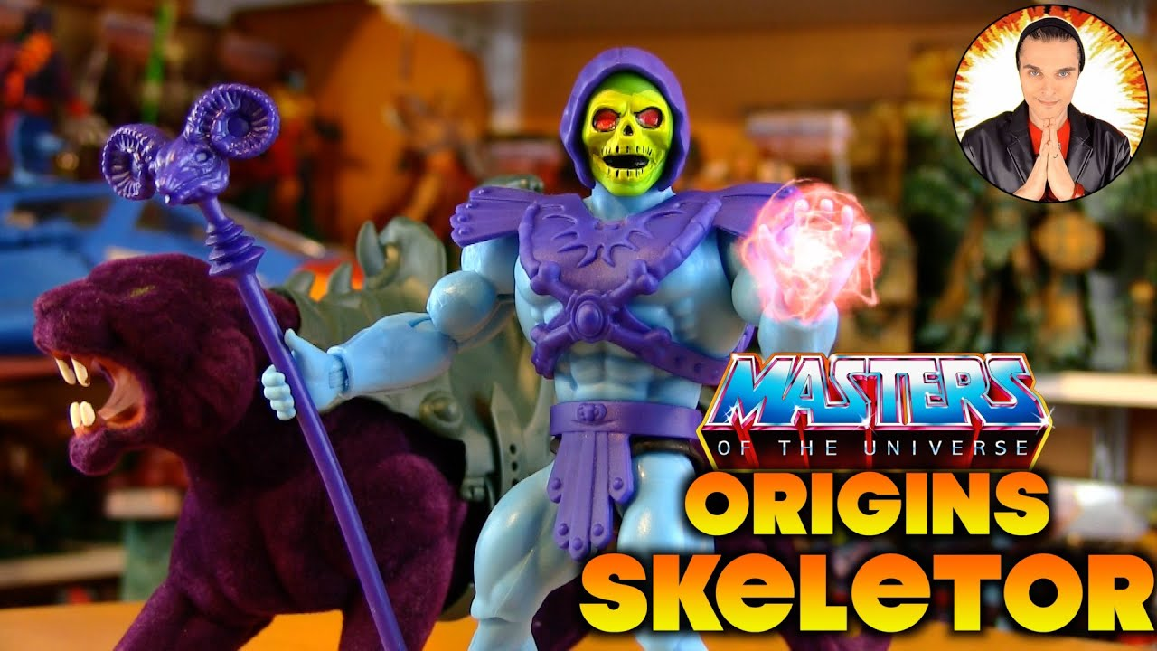 Masters of the Universe Origins SKELETOR (2020)