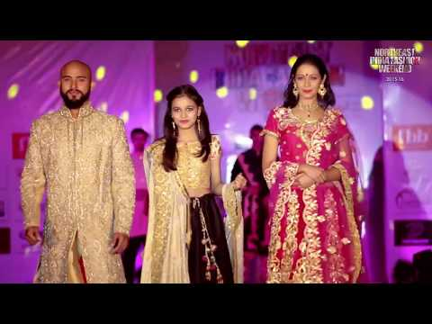 Talented designer Kanchan Sabarwal Choreographed by Renowned Prasantt Ghosh for NEIFW