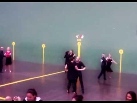 Competición Bermeo 2010 . Bailes de salón. Categoría F