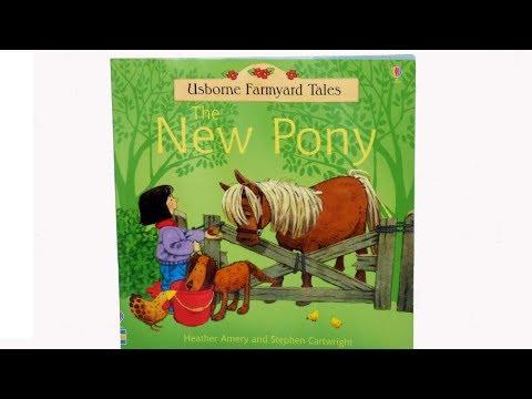 Usborne Children's Book.Farmyard Tales The New Pony