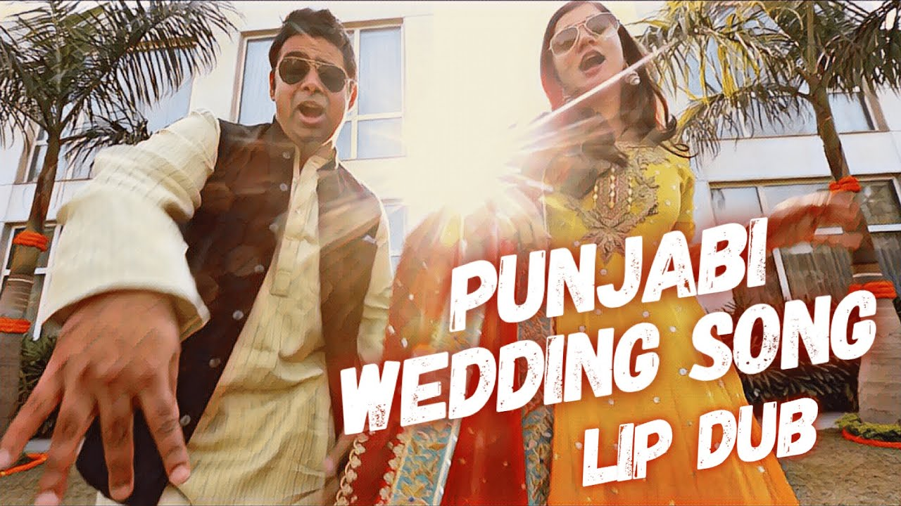 The Great Indian Wedding Lip Dub | Punjabi Wedding Song | Lachak Choreography