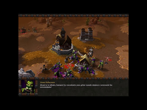 Warcraft III: Reign of Chaos. Orcos 3 # Dificultad: Difícil