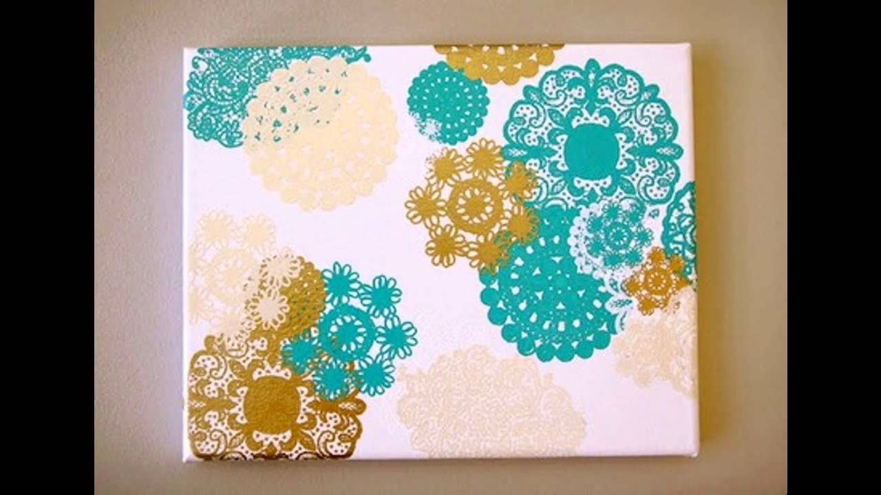 Canvas painting decorations ideas for kids - Home Art ...