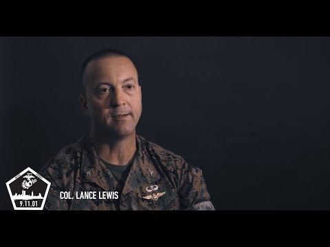 Col. Lance Lewis #MarinesRemember911