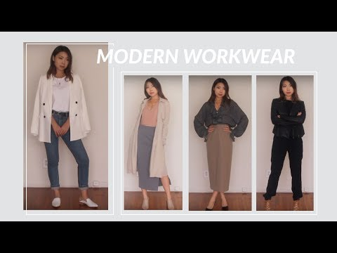MODERN WORKWEAR | Outfit Ideas for the Modern Woman | JULIA SUH