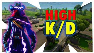 HOW TO GET A HIGH KD IN FORTNITE SEASON 6 | INCREASE YOUR K/D