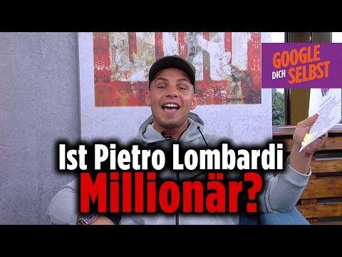 Das passiert, wenn Pietro Lombardi sich selbst googelt