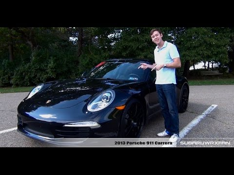 Review: 2013 Porsche 911 Carrera (Manual)