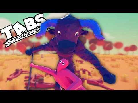 TABS MINOTAUR!  Totally Accurate Battle Simulator New BEAST