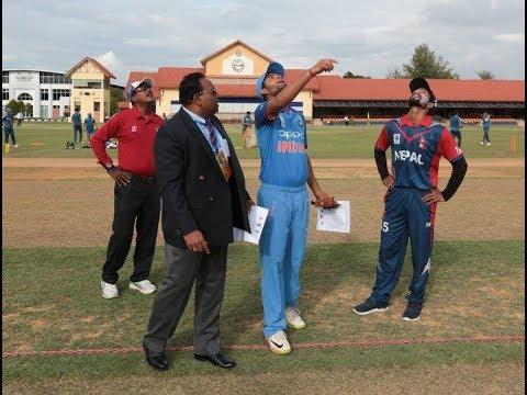 Winning Moment Of Nepal U19 vs India U19  U19 Asia Cup 2017 12 November Historic