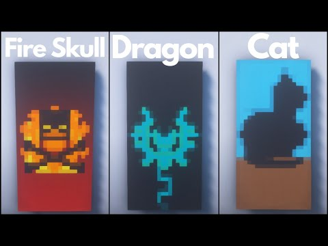Minecraft: 7 Cool Banner Designs #2 (Tutorial)