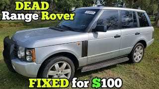 i-fixed-a-dead-1-400-auction-range-rover-for-100-in-parts-it-runs-amazing