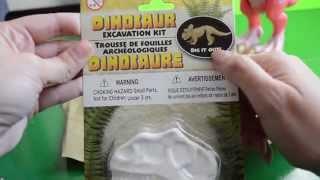Juguetes de Dinosaurios - Kit de excavación de dinosaurios huevo sorpresa misterio thumbnail
