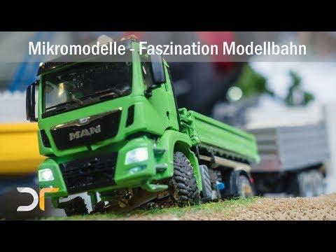 Bagger, Radlader, LKWs und viele weitere Modelle auf der Faszination Modellbahn Teil 3