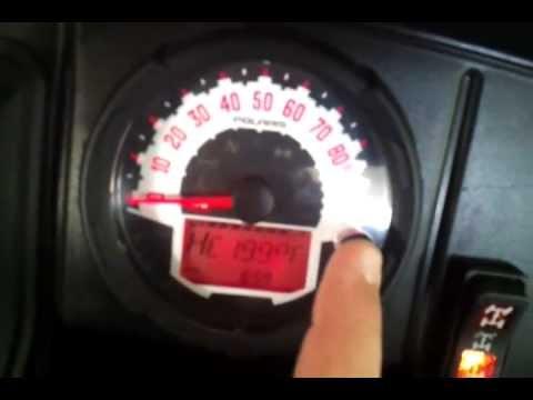 2013 Midsize Polaris Ranger 800 Check Engine Light Code 3598-4 ECU Output  Supply Voltage Low