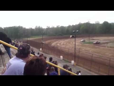 Mark Aldrich 5/5/12 hot laps