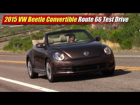 2015 Volkswagen Beetle Convertible Route 66 Test Drive