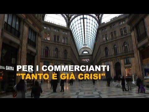 Napoli verso la zona rossa, i commercianti: 'tanto è già crisi'