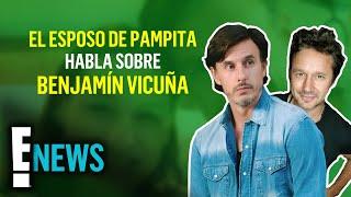 El esposo de Pampita habla por primera vez de su relación con Benjamín Vicuña