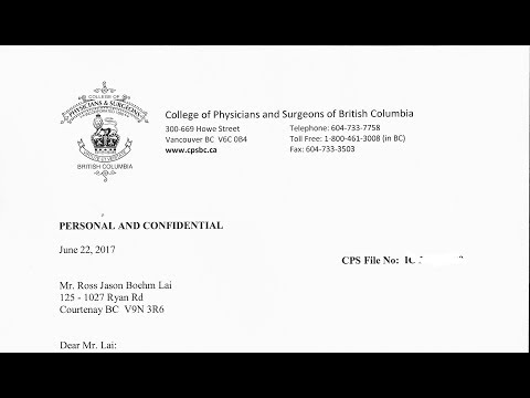 Canadian government=1st report from hospital 2012talking about(prepairing)..May 6,2017