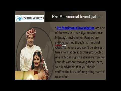 Matrimonial Detective in Punjab