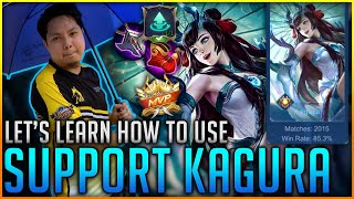 HOW TO USE KAGURA AS A SUPPORT?! | Kagura Support Tutorial by Mage Dad Yuji