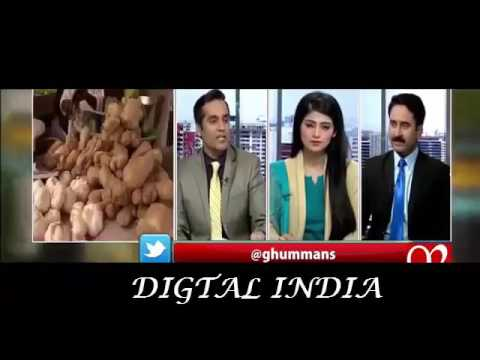 In india Inflation of food rate is less ,but pak Inflation of food rate is