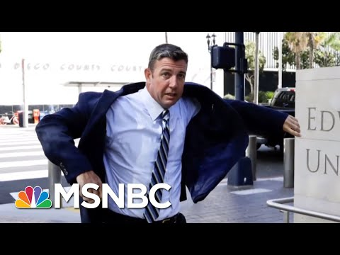 CA Rep. Duncan D. Hunter Pleads Not Guilty To Misusing Campaign Funds | Velshi & Ruhle | MSNBC