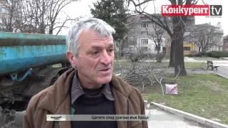 Щетите след урагана във Враца