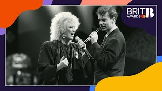 Dusty Springfield And Pet Shop Boys - What Have I Done To Deserve This (Live At The BRITs 1988)