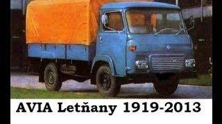 Truck Avia Letňany 1967- 2013 Konec české legendy