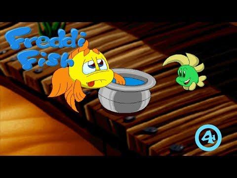 Freddi Fish: The Case Of The Hogfish Rustlers At Briny Gulch #4: Spit Bucket Dye! |