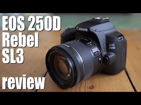 Canon EOS 250D Rebel SL3 review - | Cameralabs