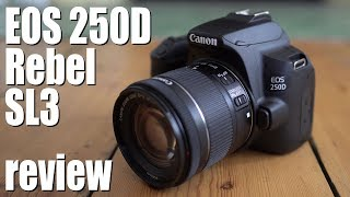 Canon EOS 250D Rebel SL3 review - IN DEPTH!