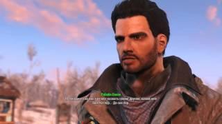 Fallout 4 Паладин Данс, романтические отношения Paladin Danse Romance SPOILERS