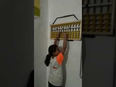 Students Practice In Genius Master Mind Abacus Bhopal