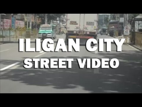 Iligan City street video