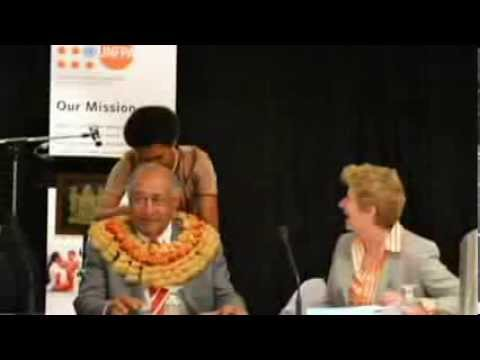 The Moana Declaration at the 6th APPC (Asia and the Pacific Population Conference)