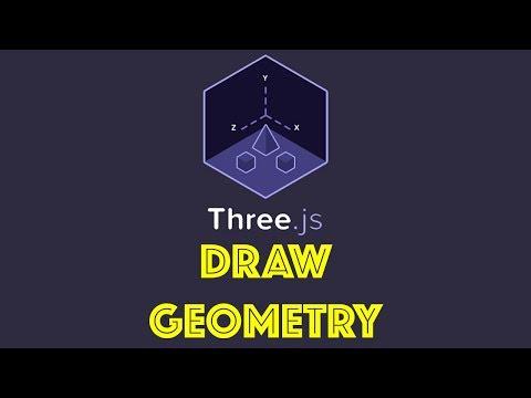Three.js Tutorial 2 - Draw Geometry