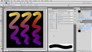 Brushes 6 - Color Dynamics - Photoshop Tutorial