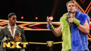 """Prince Pretty returns to the black-and-gold brand to let Velveteen Dream know that he's """"inspired"""" by Dream's NXT North American Title. Video courtesy of the ..."""