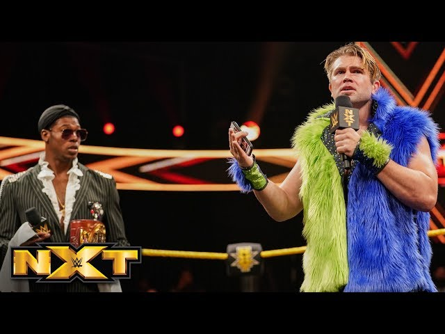 Tyler Breeze returns with a surprise for Velveteen Dream: WWE NXT, May 22, 2019
