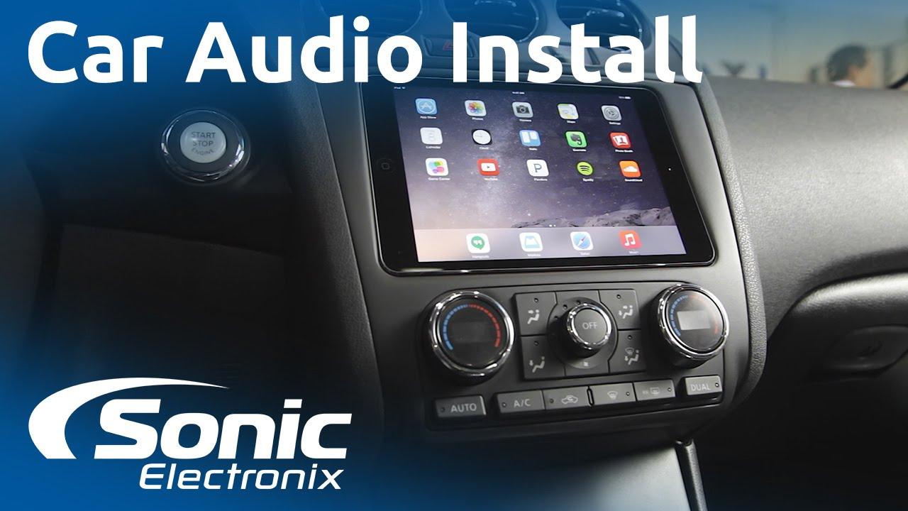 2012 Nissan Altima Ipad Mini And Car Audio System Install