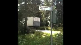 NIGER VILLAGE streetsign ? (Negerby,Neekerikylä)