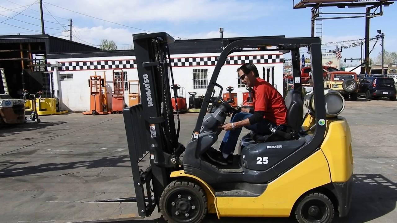New Komatsu Fg25st 16 5k Cushion Tire Forklift Youtube Wiring Diagrams