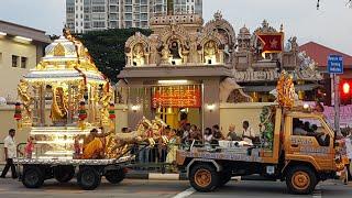 23.04.19 Ramar Navami Silver Chariot Procession @ Sri Vadapathira Kaliamman Temple Singapore
