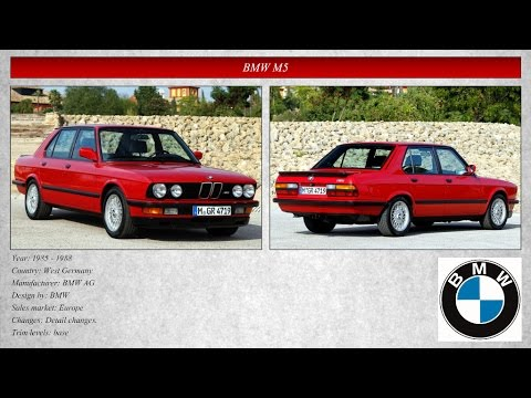 Classic Cars Collection: BMW 1981 - 1985