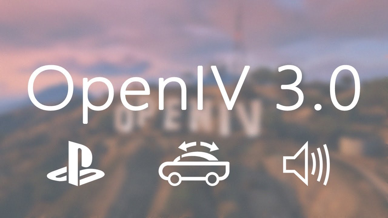 OpenIV – The ultimate modding tool for GTA V, GTA IV and Max